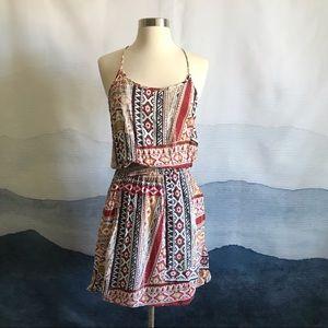 Olive & Oak Print Min Racerback Tank Top Dress